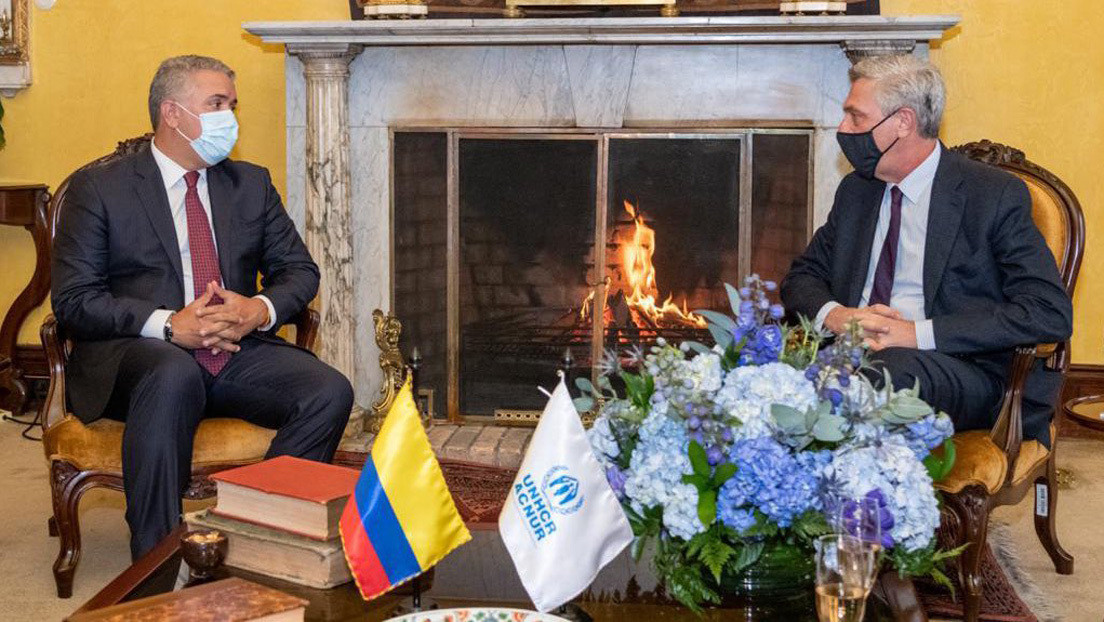 """Colombia anuncia un """"estatuto de protección temporal"""" para regularizar a los migrantes venezolanos"""