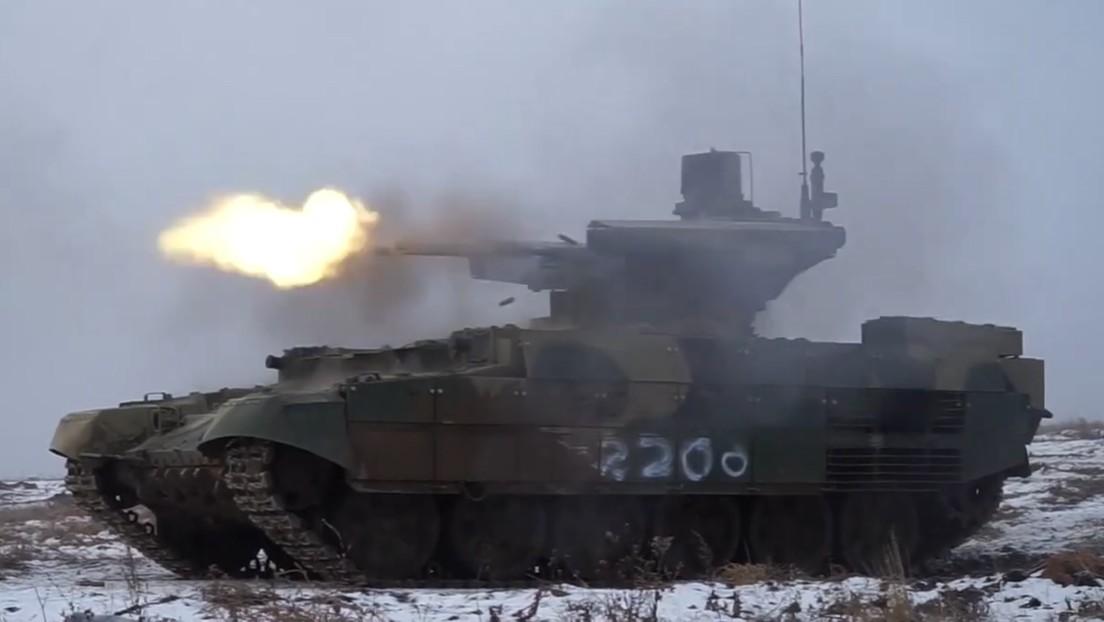 VIDEO: Prueban en campo abierto los vehículos blindados rusos Terminator, capaces de derribar helicópteros y aviones