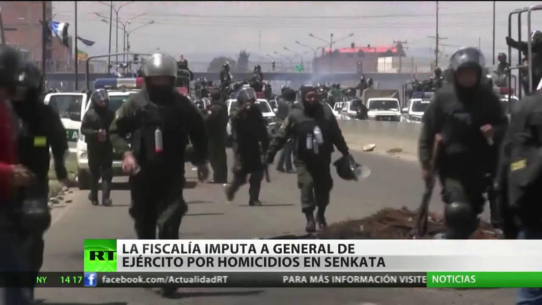 La Fiscalía de Bolivia imputa a un general del Ejército por homicidios en Senkata