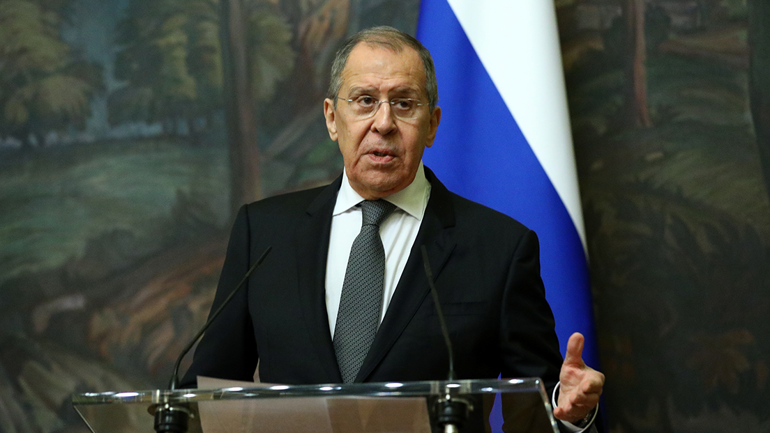 """Lavrov: """"Occidente quiere que Rusia sea un territorio cómodo para promover sus propios intereses"""""""
