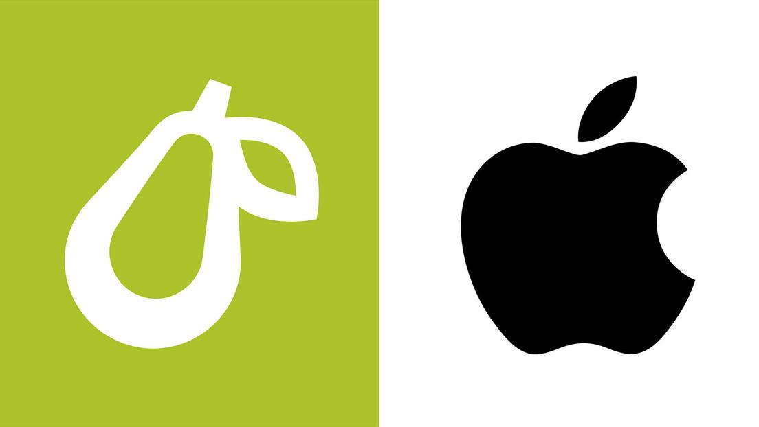Apple permite que una pequeña empresa gastronómica tenga una pera como logotipo tras una larga disputa a cambio de modificar la imagen