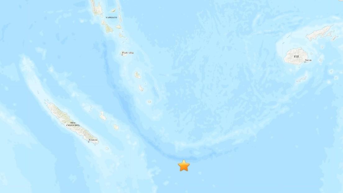 Se registra un sismo de magnitud 7,7 en el Pacífico, cerca de las islas de la Lealtad