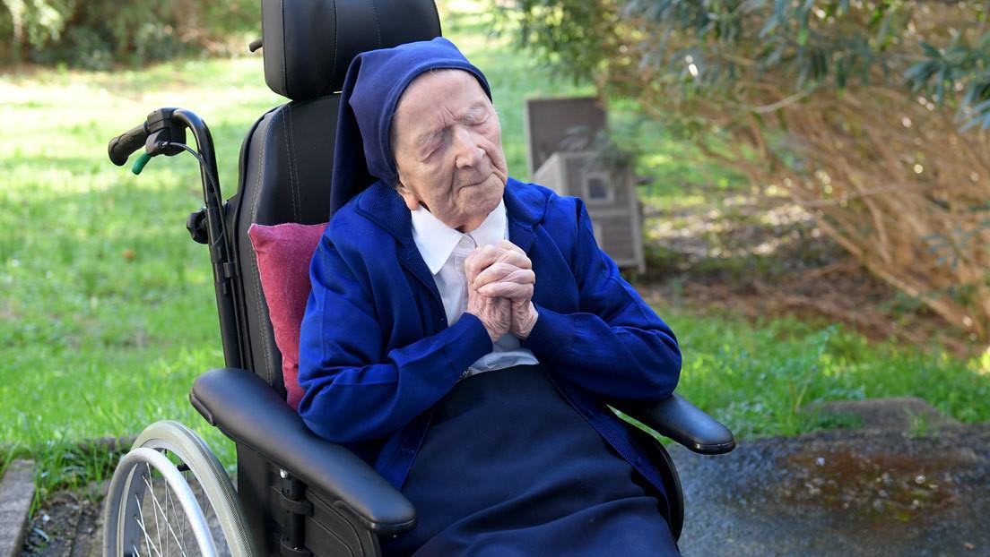 Sobrevivió a las dos guerras mundiales, la gripe española y el covid-19: la mujer más longeva de Europa cumple 117 años