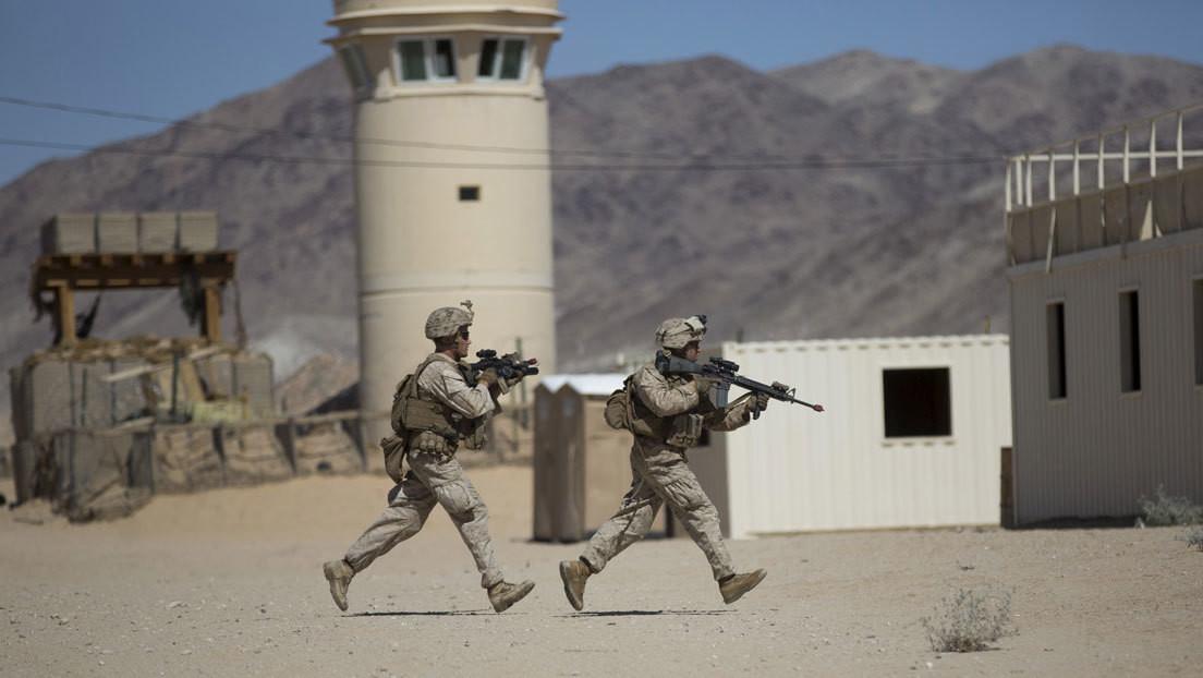 Desaparecen explosivos de una base de marines en California donde tienen lugar ejercicios militares desde enero