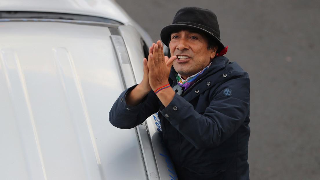 """Movimiento indígena ecuatoriano convoca a sus bases a movilizarse y denuncia un """"fraude"""" para perjudicar a su candidato presidencial Yaku Pérez"""