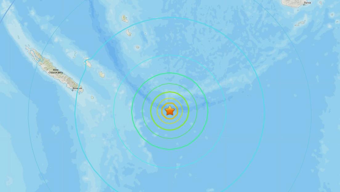 Amenaza de tsunami tras el sismo de magnitud 7,7 en el Pacífico, cerca de las islas de la Lealtad