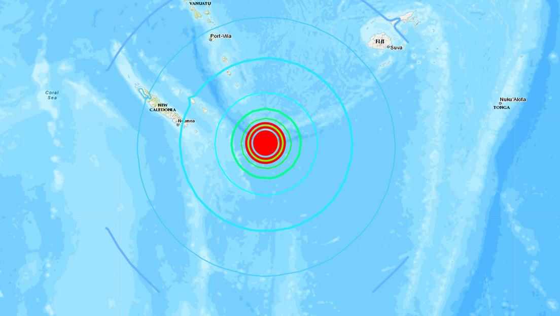Tsunami confirmado tras un sismo de magnitud 7,7 en el Pacífico Sur
