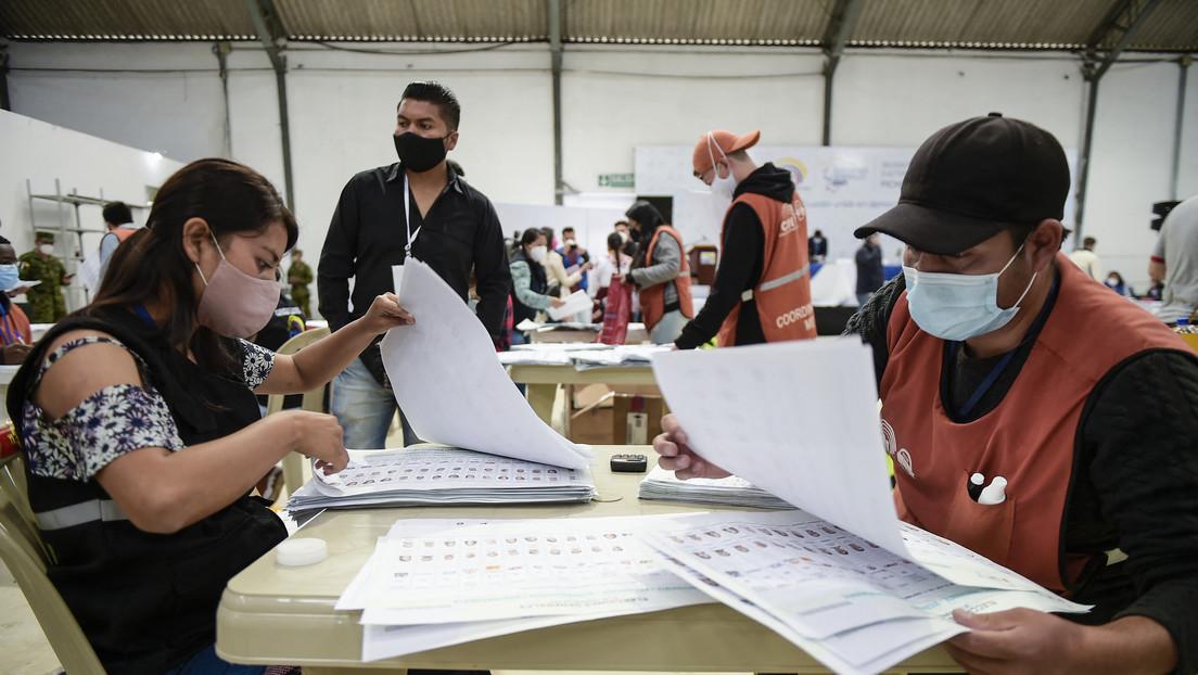 Elecciones en Ecuador: suspenden por dos horas la revisión de actas con inconsistencias en la provincia de Guayas