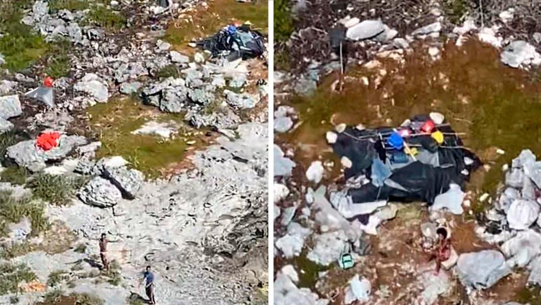 Rescatan a tres náufragos que permanecieron 33 días en una isla deshabitada