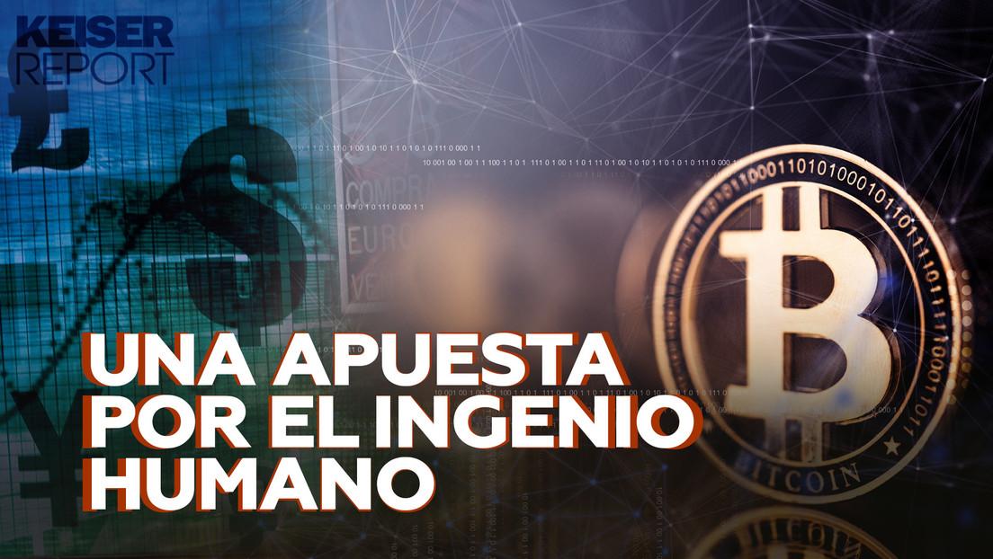 """""""El bitcóin no se puede prohibir e impedir su comercio provocará que la gente huya en estampida del papel-moneda"""""""
