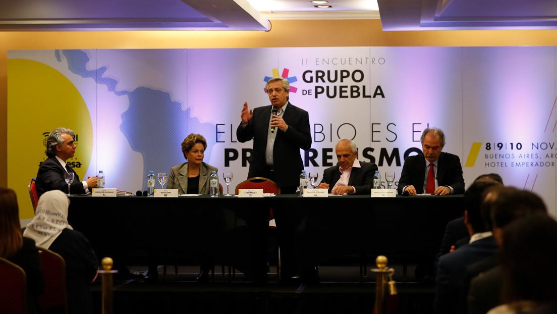 Democracia, pandemia, persecución judicial o corrupción: el Grupo de Puebla lanza un manifiesto progresista para contrarrestar al neoliberalismo