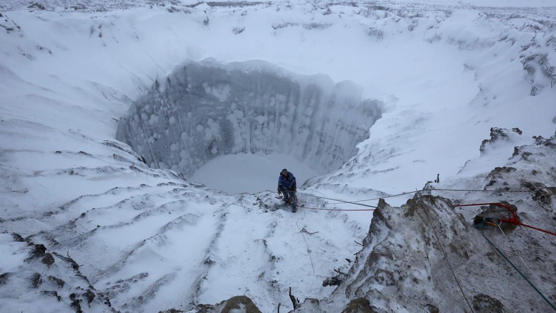 Científicos encuentran 3 nuevos cráteres en el permafrost de Siberia mediante Google Earth
