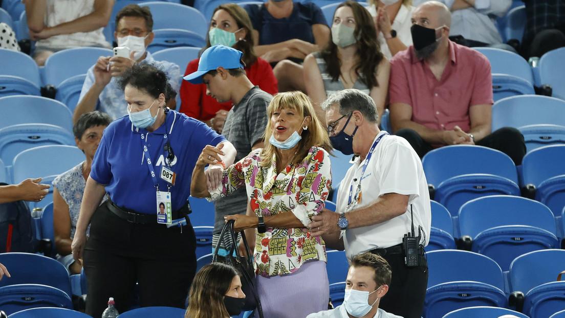 VIDEOS: Una espectadora le lanza insultos a Rafael Nadal en pleno partido y así reacciona el tenista