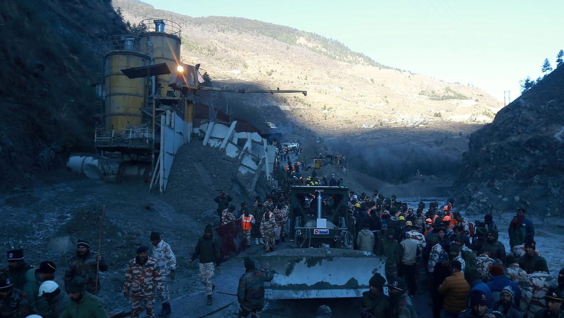 La actividad humana en los grandes ríos de Asia aumenta el riesgo de desastres similares a la fatal ruptura de un glaciar en la India, según expertos
