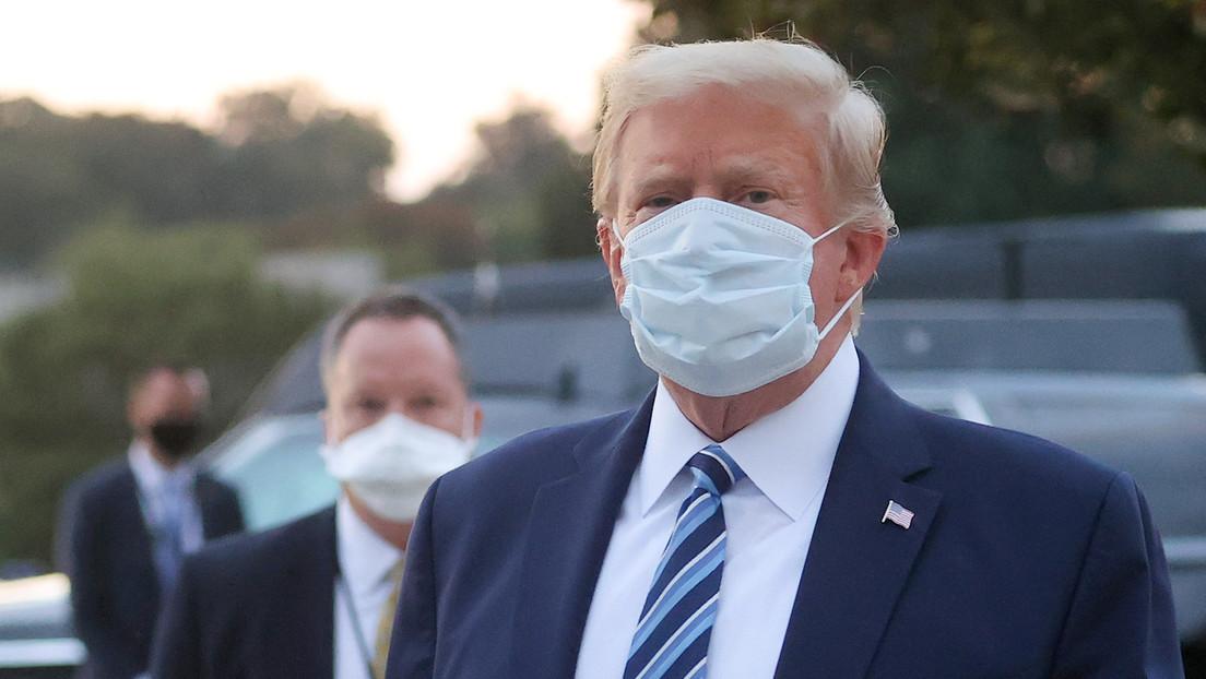 Reportan que la salud de Trump empeoró tanto mientras tenía covid-19 que funcionarios temían que lo conectaran a un respirador