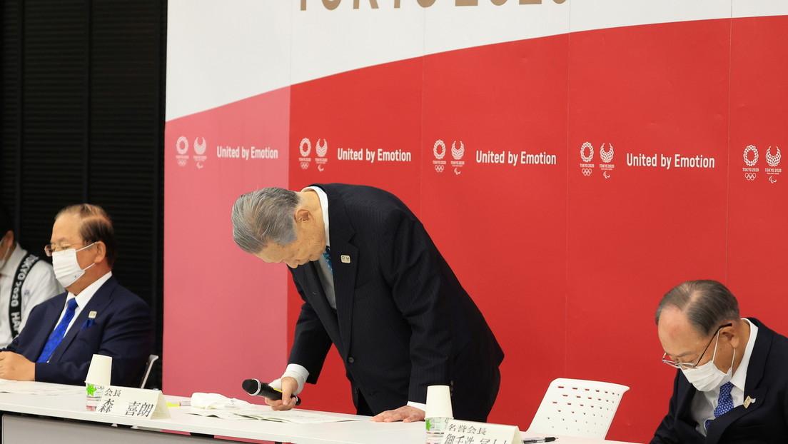 Dimite el presidente de Tokio 2020 tras el escándalo por sus comentarios sexistas