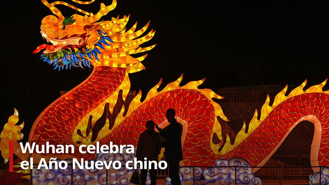 VIDEO: Así se celebra en Wuhan la llegada del Año Nuevo chino