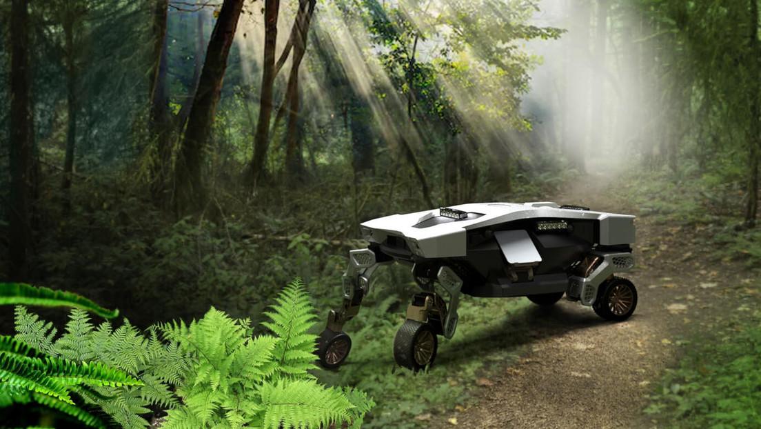 Hyundai muestra el concepto de su primer auto autónomo, capaz de 'caminar' y volar con ayuda de drones y que puede usarse hasta en otros planetas