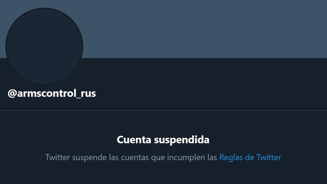 """Twitter suspende temporalmente la cuenta de la delegación rusa en las negociaciones sobre control de armas y esta lo califica de """"censura desnuda"""""""