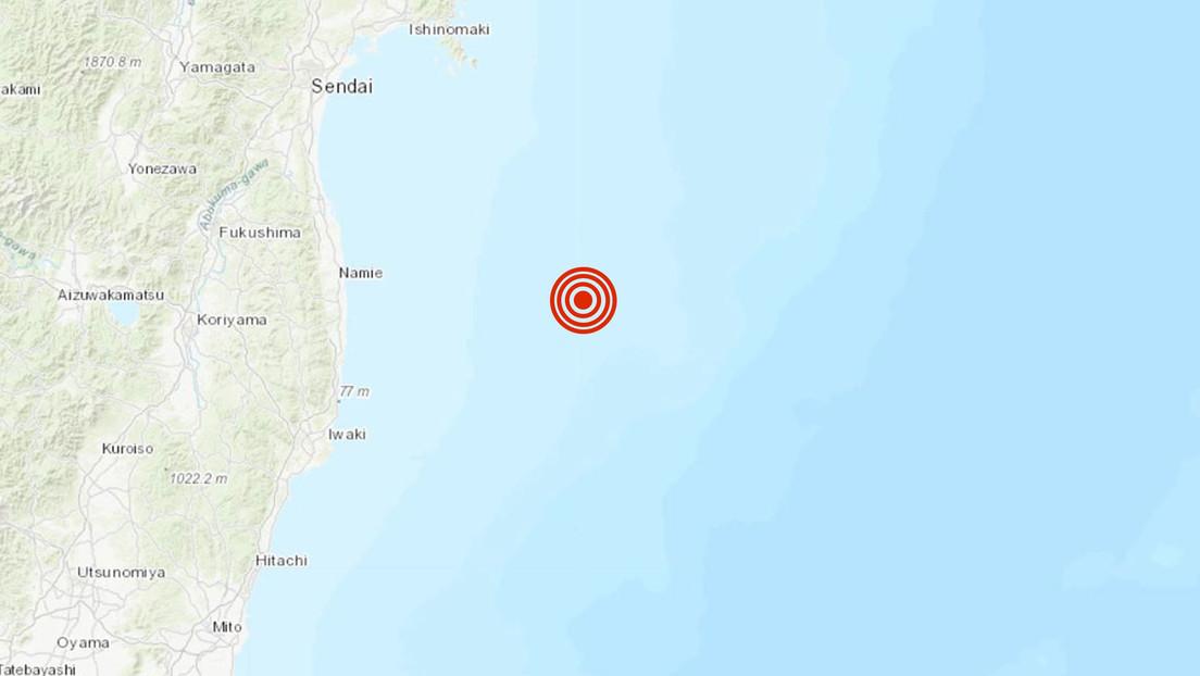 Se registra una réplica de magnitud 5,1 frente a las costas de Fukushima tras el fuerte terremoto del sábado
