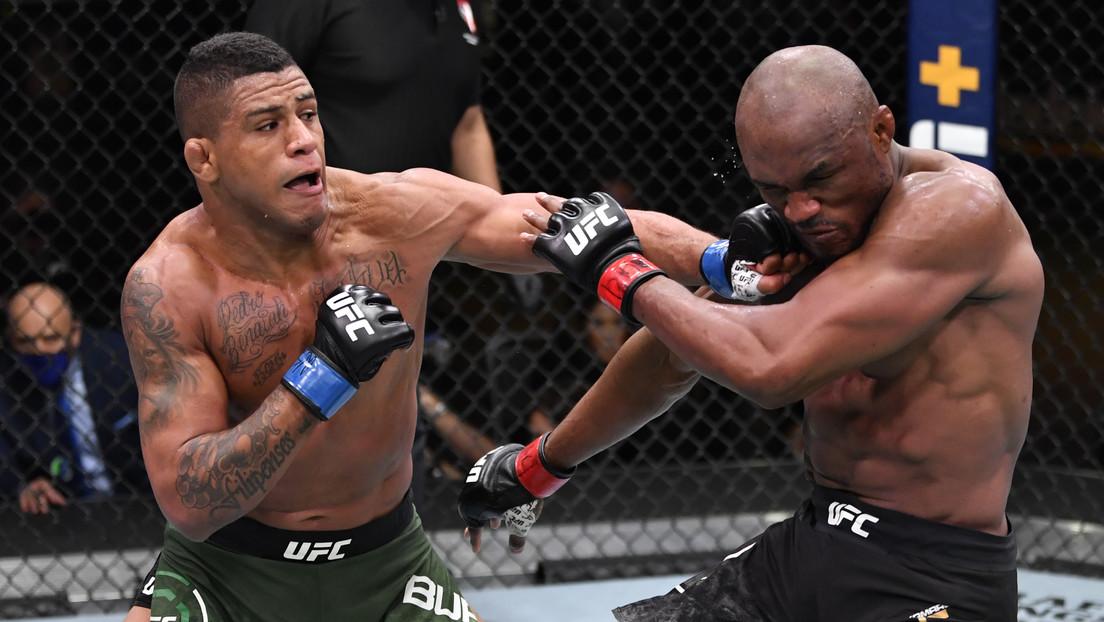 VIDEO: El luchador Kamaru Usman se repone de una caída, destroza a su rival y retiene su titulo de la UFC con un nuevo récord