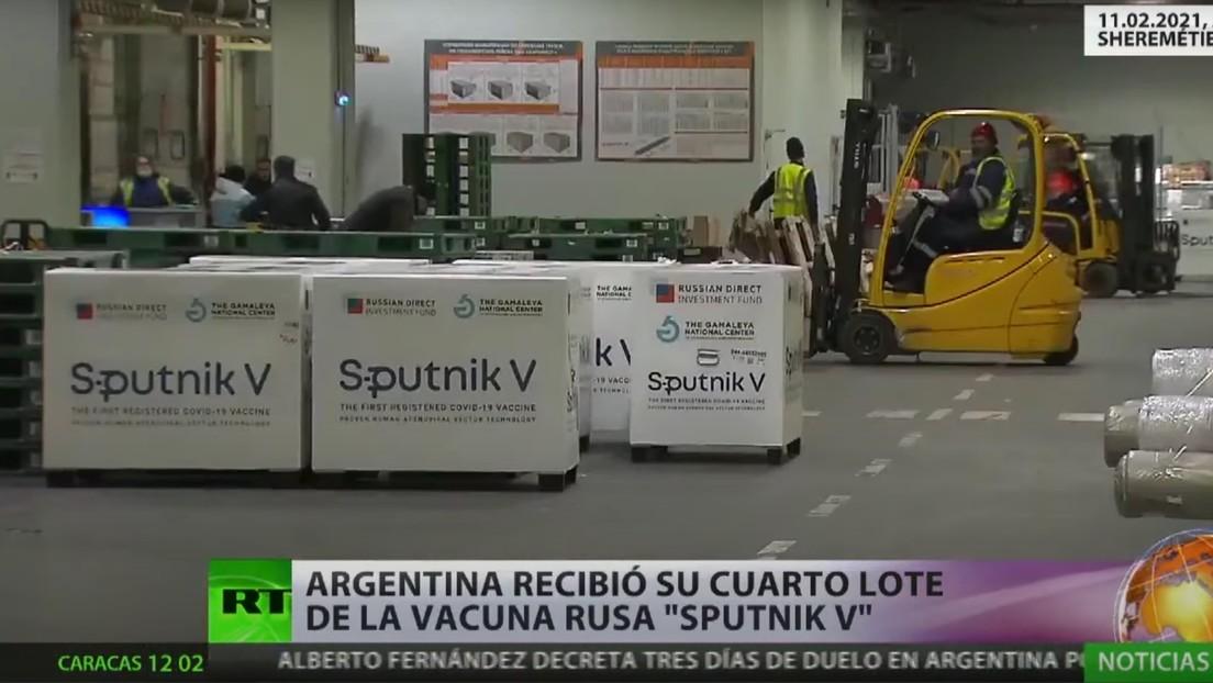 La Sputnik V cobra reconocimiento internacional y cada vez son más los países que ratifican su confianza en la vacuna rusa