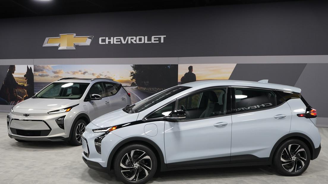 GM presenta la versión eléctrica de su monovolumen Chevrolet Bolt