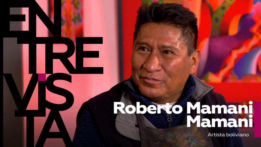 """Roberto Mamani Mamani, artista boliviano: """"La colonización nos ha hecho odiar lo que somos, hay una discriminación hacia los indígenas"""""""