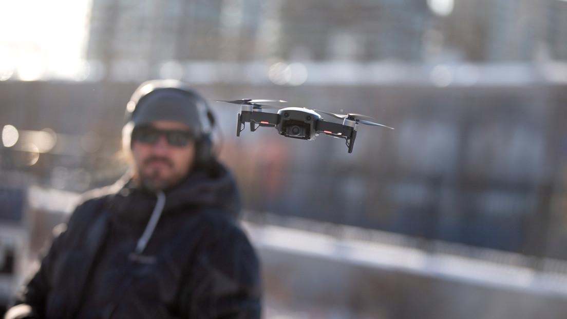 VIDEO: Desembalan el primer dron de pilotaje con visión remota de la compañía DJI