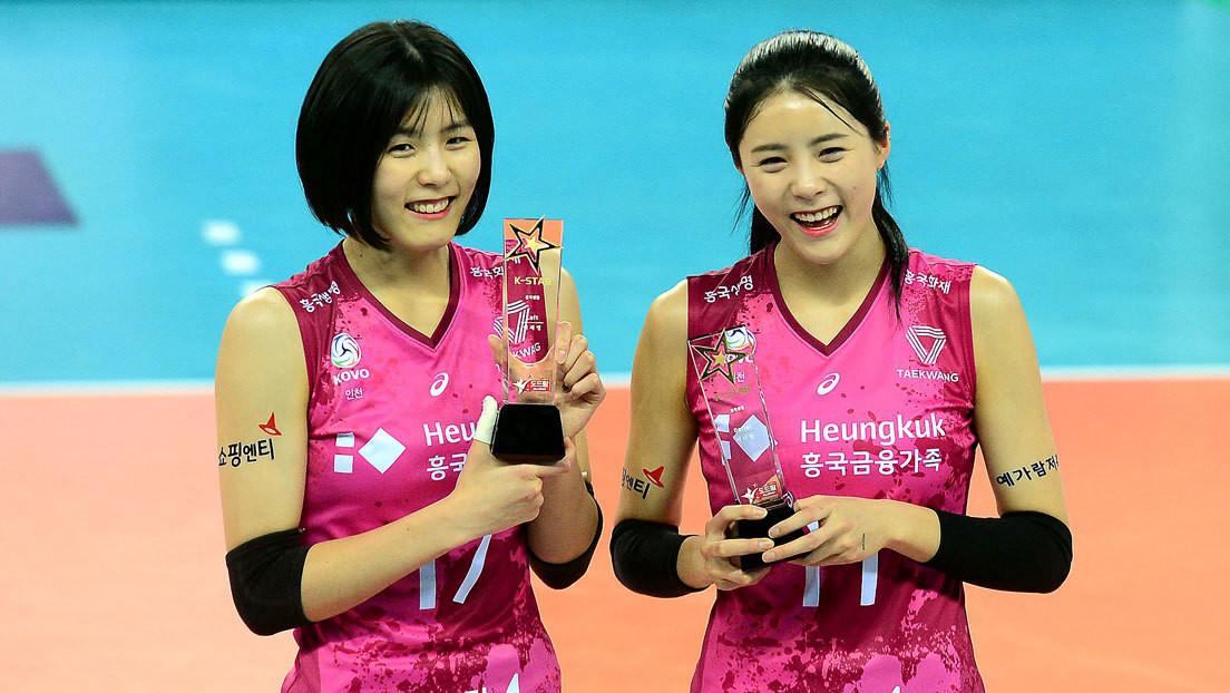 Suspenden a dos jugadoras gemelas de la selección nacional de voleibol surcoreano por acosar a sus compañeras hace 10 años