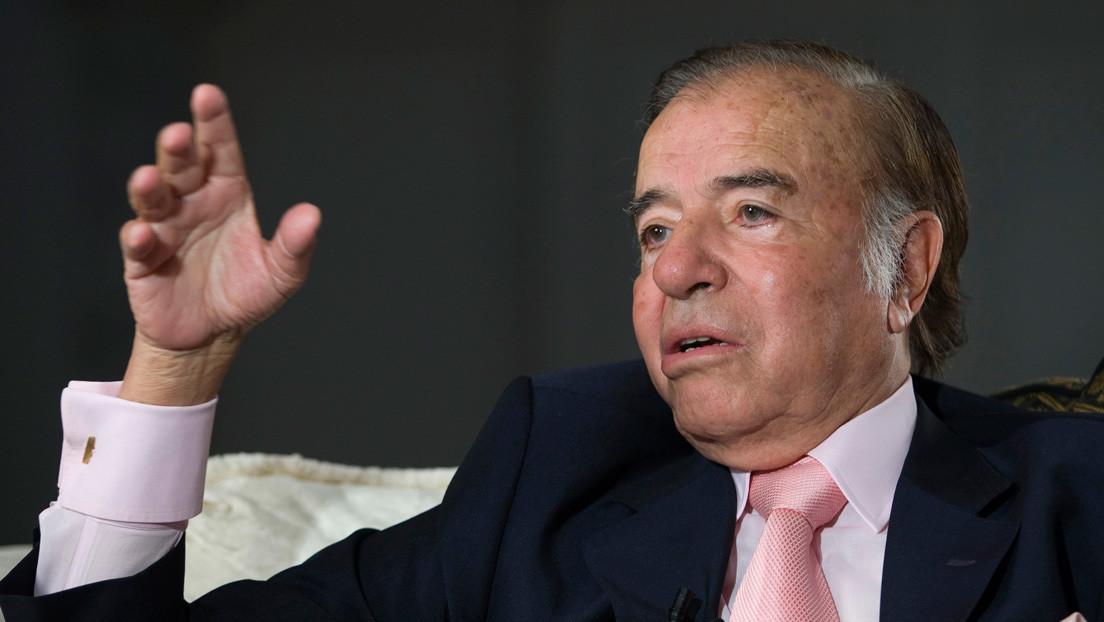 Por qué la ciudad argentina de Río Tercero no guarda luto al expresidente Carlos Menem