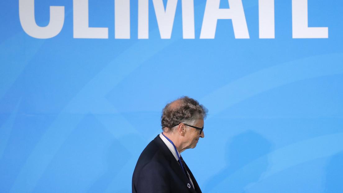 Bill Gates planea invertir 2.000 millones de dólares contra el cambio climático durante los próximos cinco años