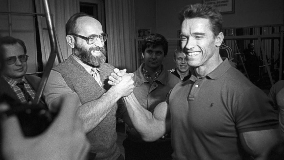 """""""Llevaba más libros que pesas"""": Schwarzenegger rinde homenaje a Yuri Vlásov, leyenda de la halterofilia rusa"""