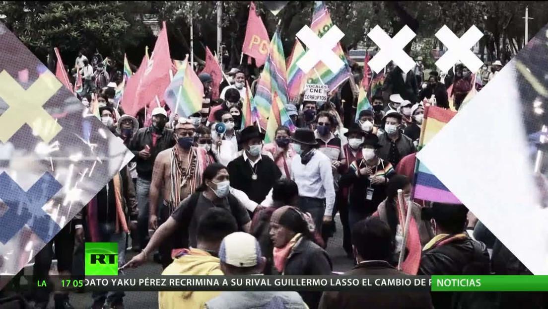 Ecuador: El CNE suspende la reunión sobre el recuento parcial de votos