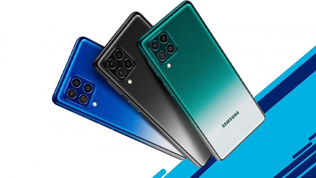 Samsung lanza el Galaxy F62 con un potente procesador y una batería gigante