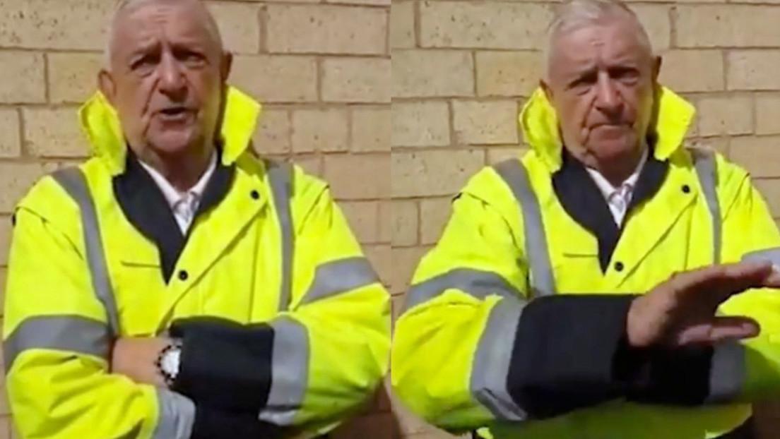 """""""Fui un completo idiota"""": cazadores de pedófilos detienen a un hombre de 83 años mientras esperaba a una adolescente (VIDEO)"""