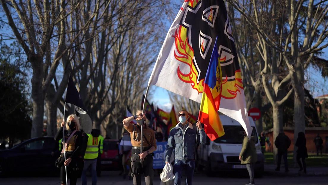 """""""Repugnante e inaceptable"""": Israel, Rusia y Alemania condenan la marcha neonazi en Madrid"""