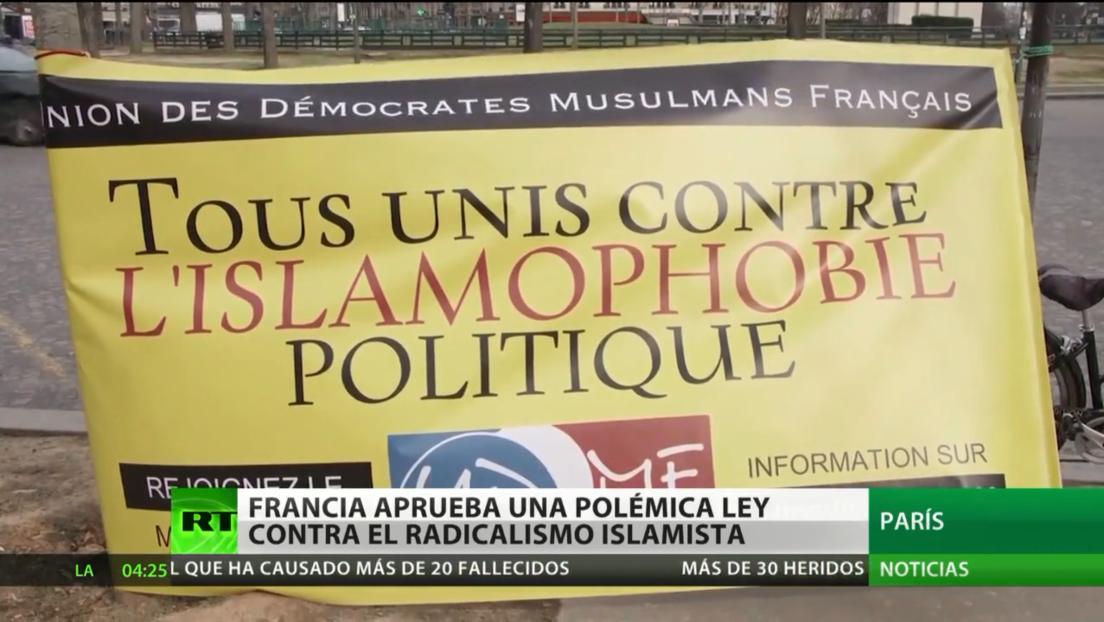 Francia aprueba una polémica ley contra el radicalismo islamista