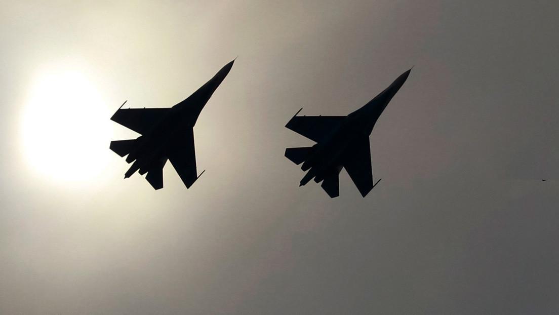 Dos cazas rusos interceptan aviones militares franceses sobre el mar Negro
