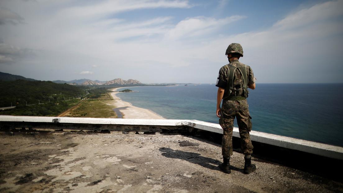 Un norcoreano huye a Corea del Sur con un traje de buceo y aletas