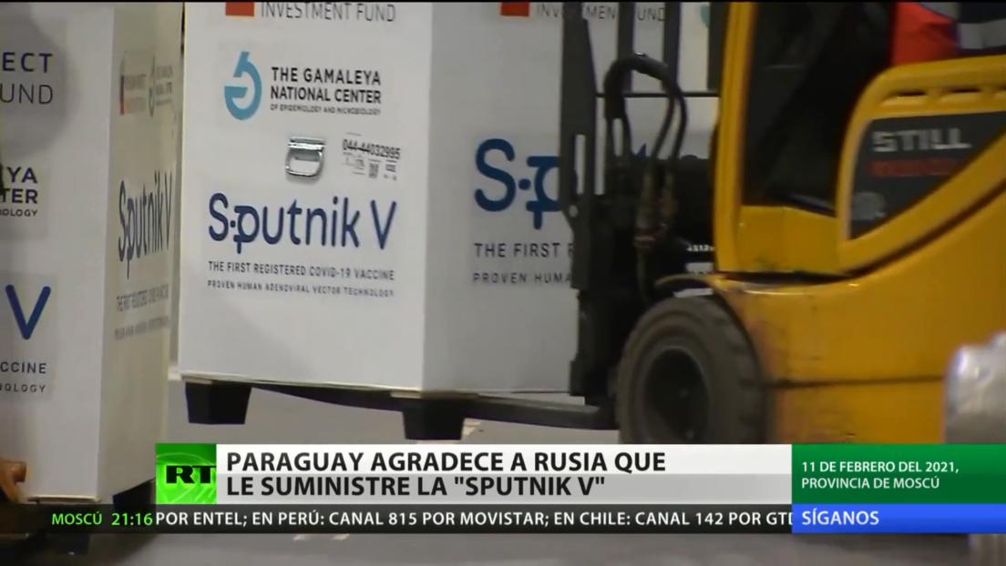 El presidente de Paraguay agradece a Putin por el suministro de Sputnik V