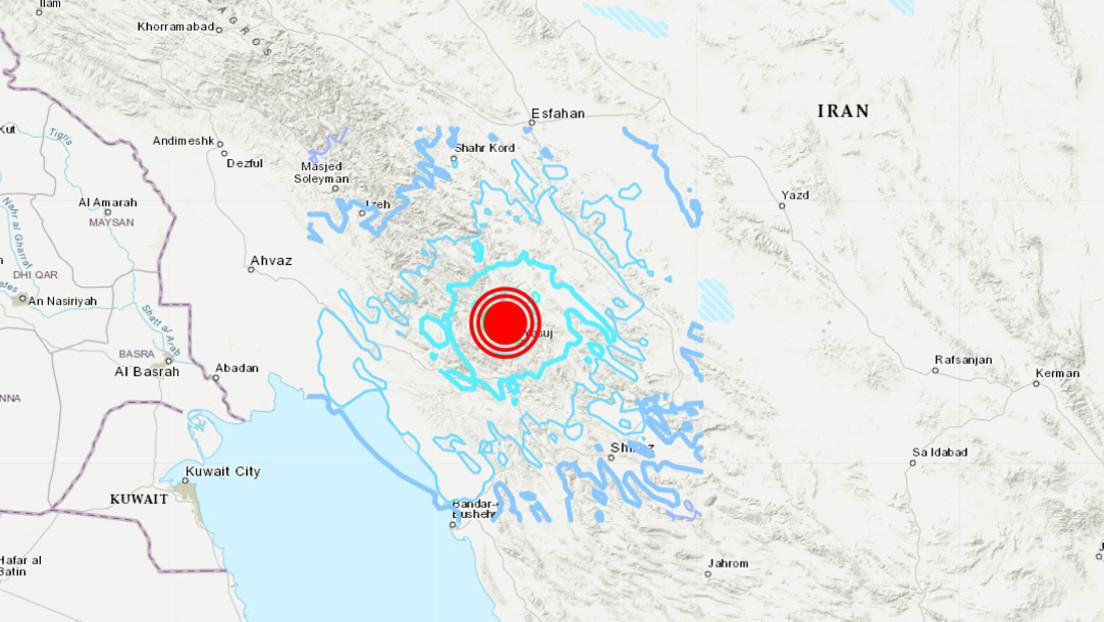 Un sismo de magnitud 5,6 sacude el suroeste de Irán