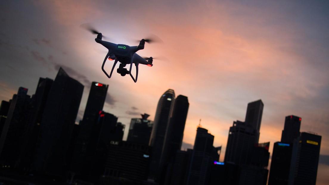 Un dron con un kilo de metanfetamina se estrella contra el tejado de un edificio cerca de la frontera entre México y EE.UU.