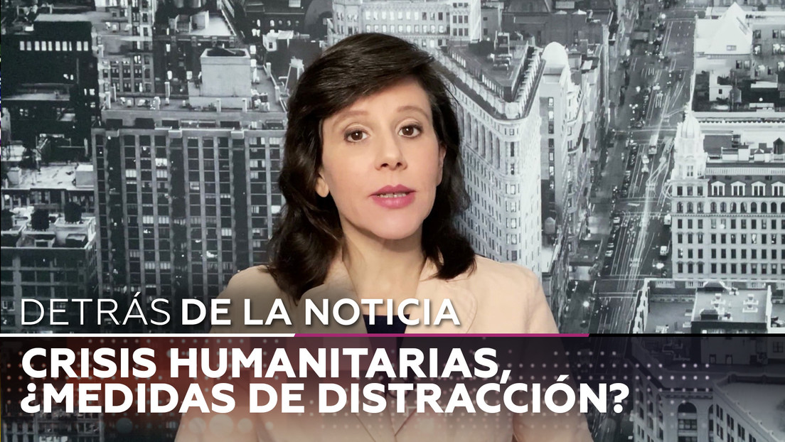 Crisis humanitarias, ¿Medidas de distracción?