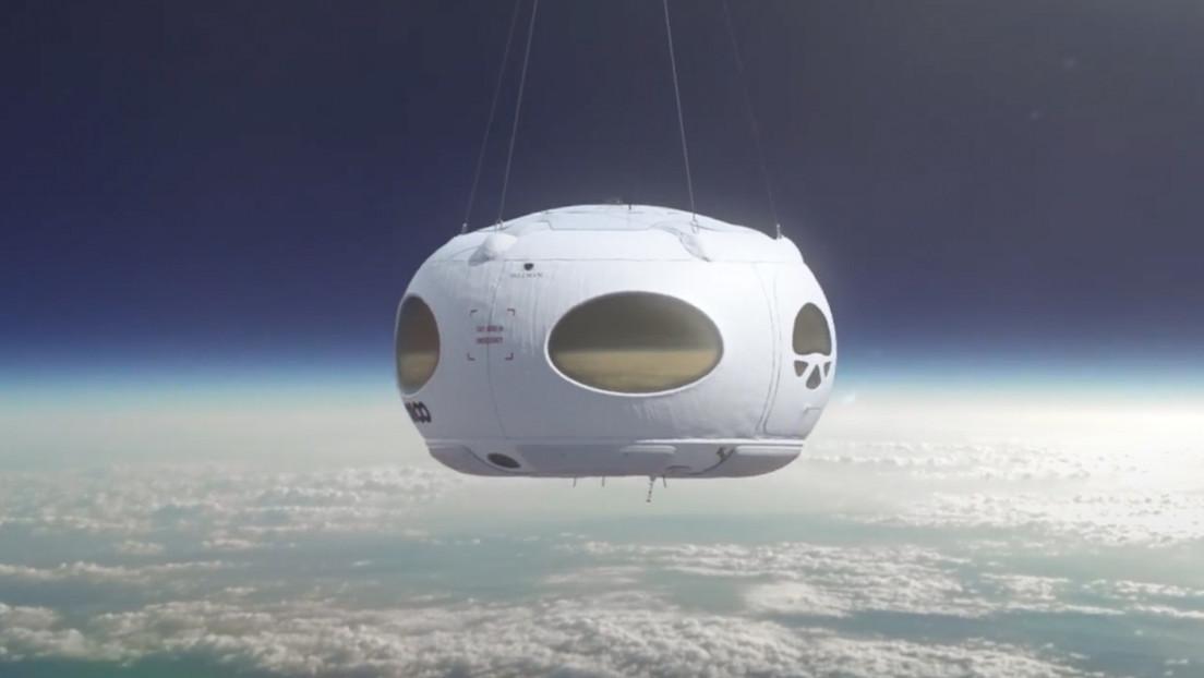 Esta empresa española planea enviar turistas a la 'frontera' con el espacio en un globo aerostático (VIDEO)