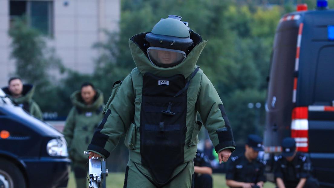 China realiza entrenamientos de unidades militares de desactivación de bombas (FOTOS)