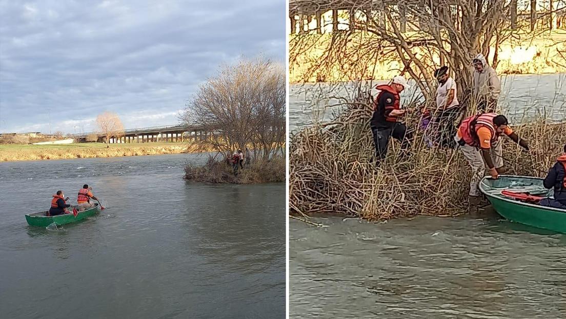 Un niño hondureño de 8 años muere ahogado en el río Bravo al intentar cruzar la frontera entre México y EE.UU.