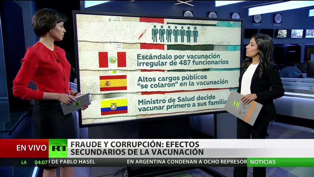Fraude y corrupción: Los efectos secundarios de la distribución de vacunas