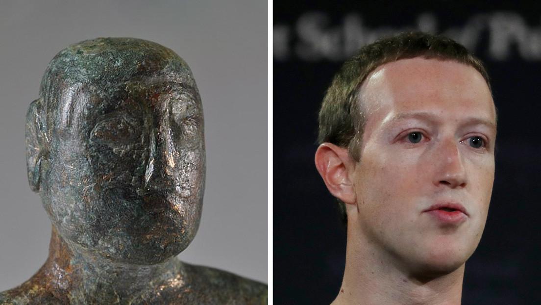 Hallan una estatuilla de 1.900 años de antigüedad con un peinado similar al de Mark Zuckerberg