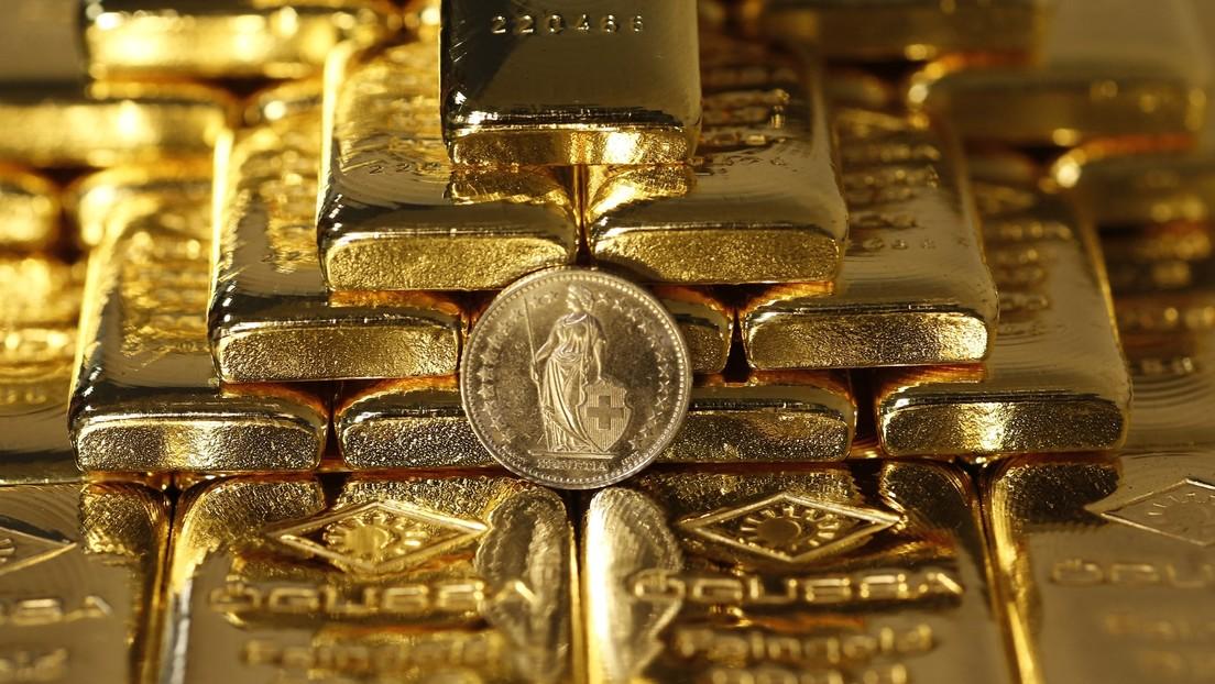 Las reservas de Rusia en oro y moneda extranjera crecen en más de 5.000 millones de dólares en una semana